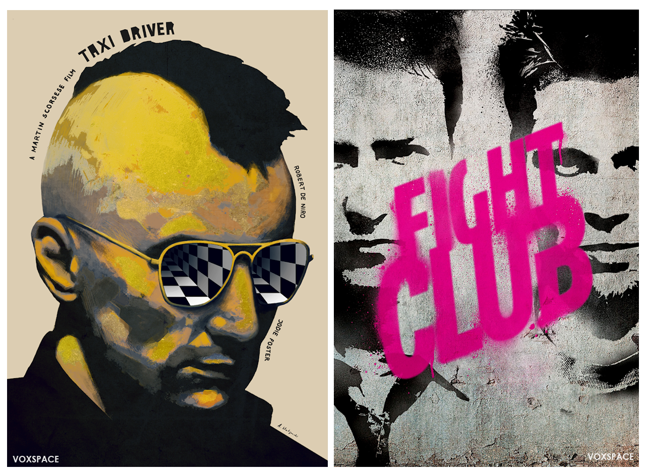 fight club and taxi driver