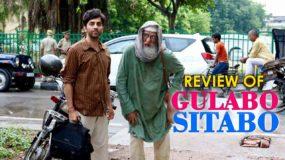 Review of Gulabo Sitabo